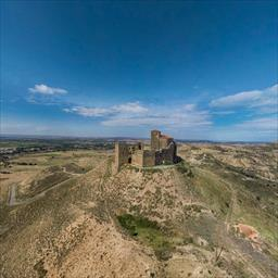 Virtual tour Montearagon castle Quicena