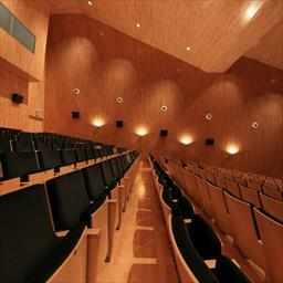 Virtual tour Sabiñánigo auditorium Sabiñánigo